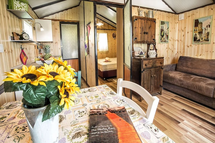 Wonderful wooden chalet The Floating Piers 2016 - Sulzano - Cabaña