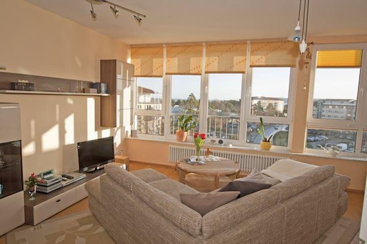 Ferienwohnung Penthouse - Binz - Lägenhet