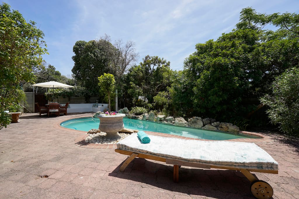 Pool and outdoor entertainment area