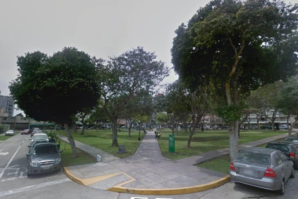 Aire Natural, en zona residencial , en el barrio turístico de Miraflores. Natural Air, in a residential area, in the tourist district of Miraflores