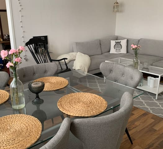 Lovely apartment (58 sqm) in the centre of Kouvola