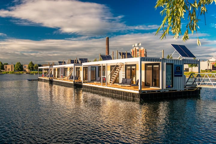 Cabine - Hôtel - Flotel avec vue