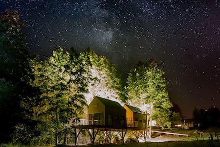 Sowa - domek w gałęziach drzew - Wlodawa - Домик на дереве