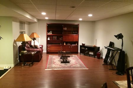 Basement Retreat for the Inner Artist - Kitchener - Hus