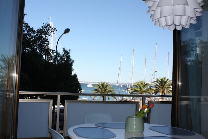Seafront apartment on Paseo Marítimo with views