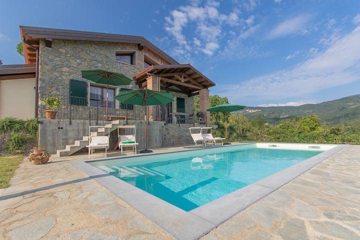 Villa della Vigna- Exclusive villa with Pool