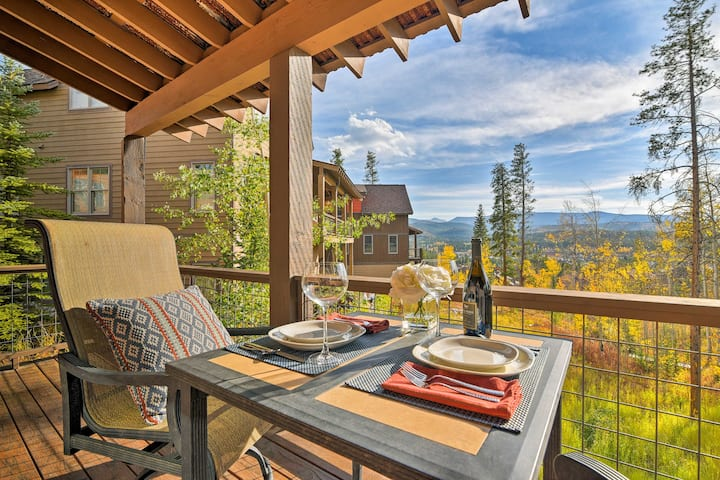 Winter Park Area Family Cabin w/Mtn View & Hot Tub