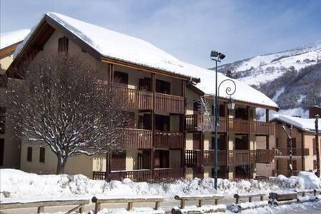 Appt classé 3 étoiles 4 personnes Centre Valloire - Valloire - Apartament