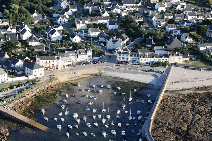 Petite maison en bord de mer - 聖皮耶爾屈伊伯龍(Saint-Pierre-Quiberon)