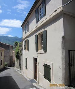 Pyrenean Town House in Axat
