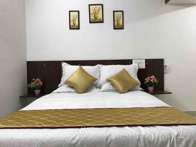 Mahas Homestay | Fully Furnished 2BHK Flat (A/C)