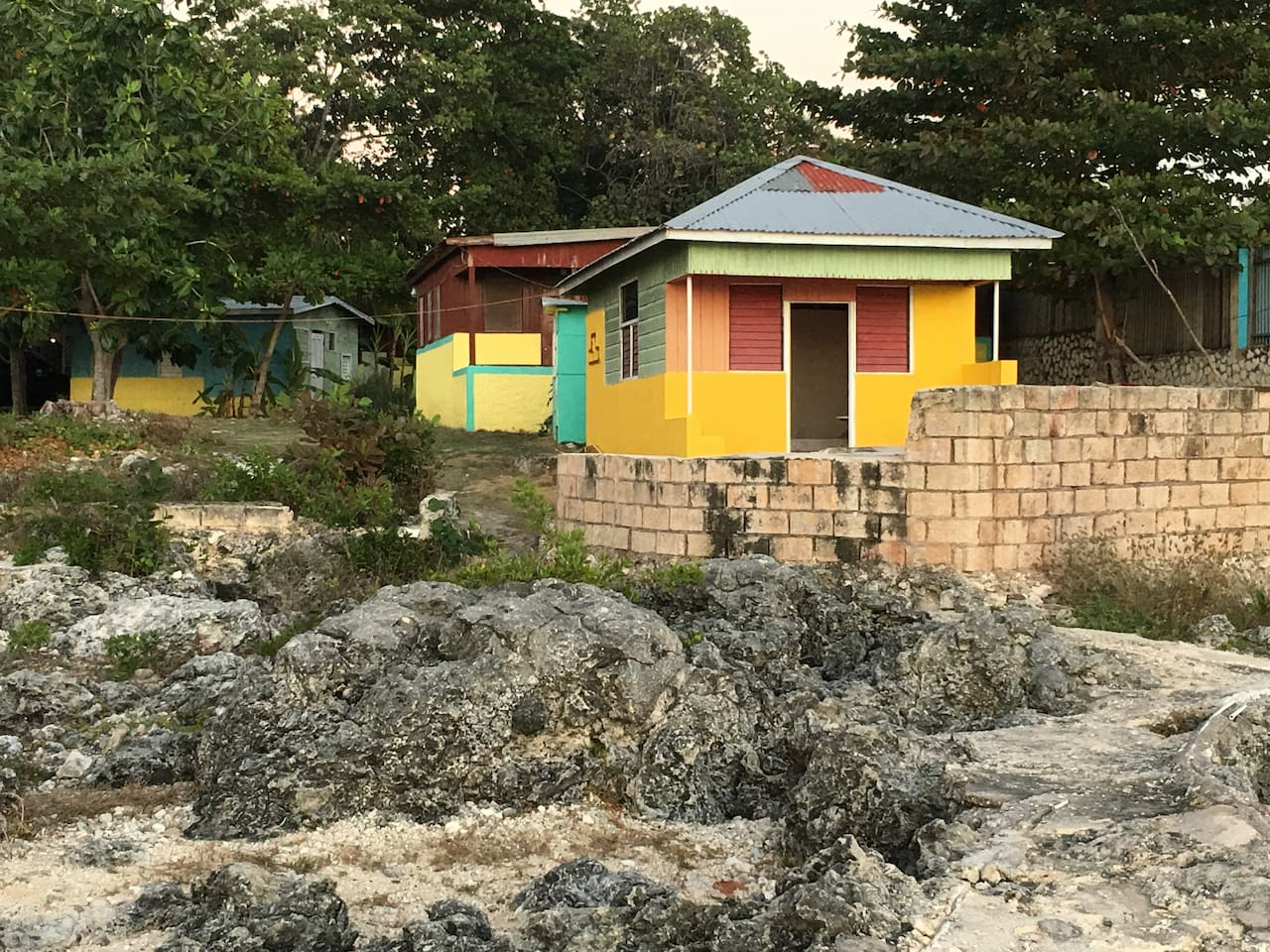 Oh, my little cottage in Negril