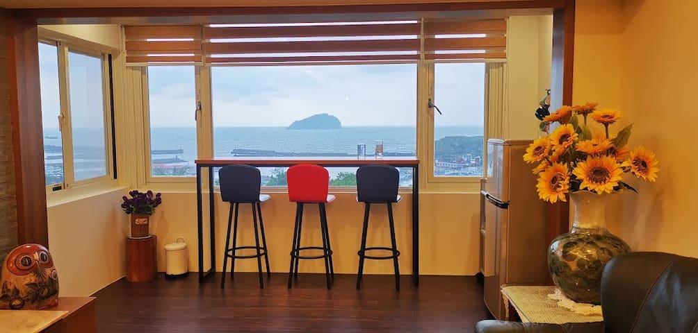 超級無敵海景浪漫小屋看雲看海看島嶼,適合全家人聚會或好友相聚,4人為主,每加一人加500