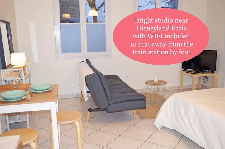 ★★★★Cosy Disneyland Paris/Val D'Europe Studio★★★★