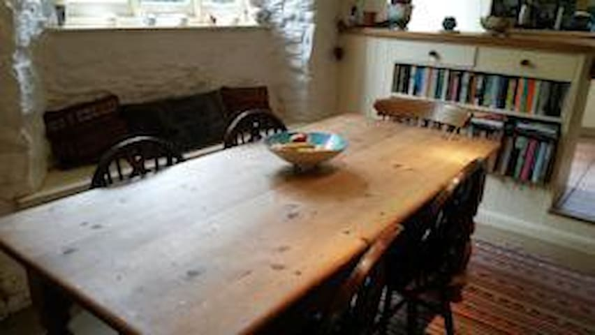 A traditional 3 storey townhouse - Ashburton - Bed & Breakfast