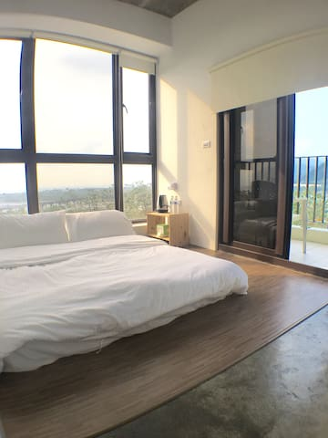 【NewOpen】SAPAH Suli Guesthouse。Silung wz sea view - Xiulin Township - Bed & Breakfast