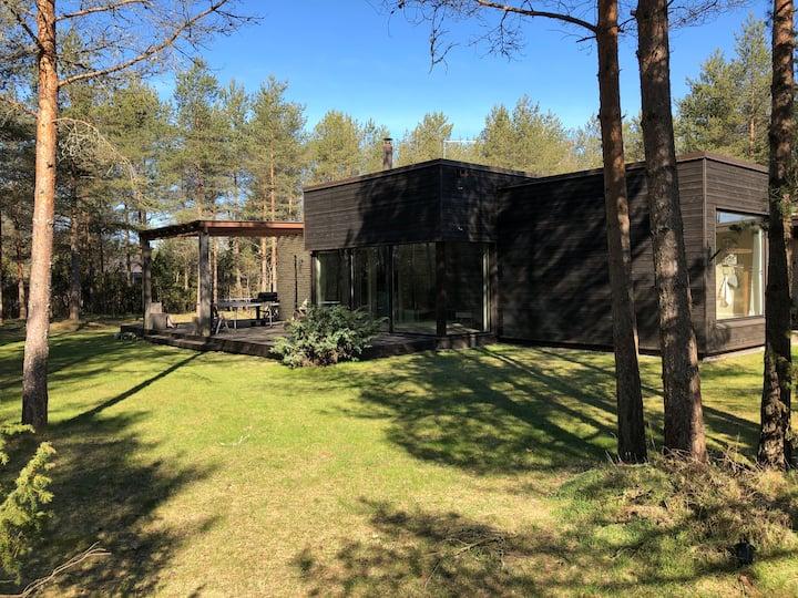 Beautiful home in a pine forest near Tallinn
