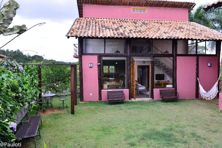 Aconchego em condomínio fechado de Tiradentes