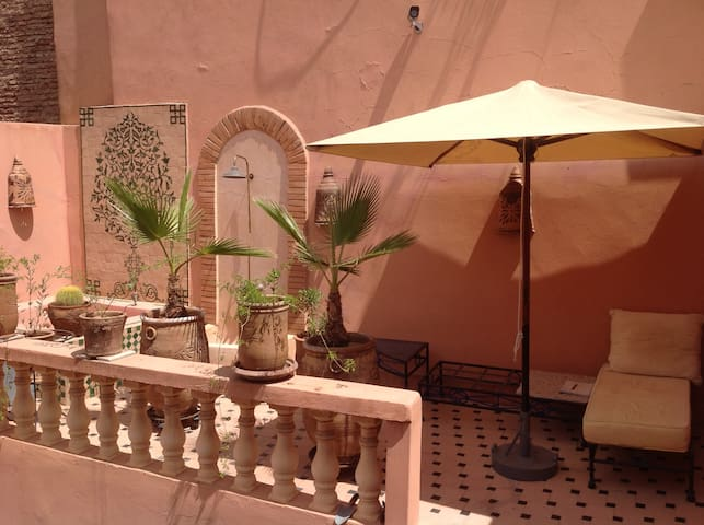 Traditional moroccan riad (double room)