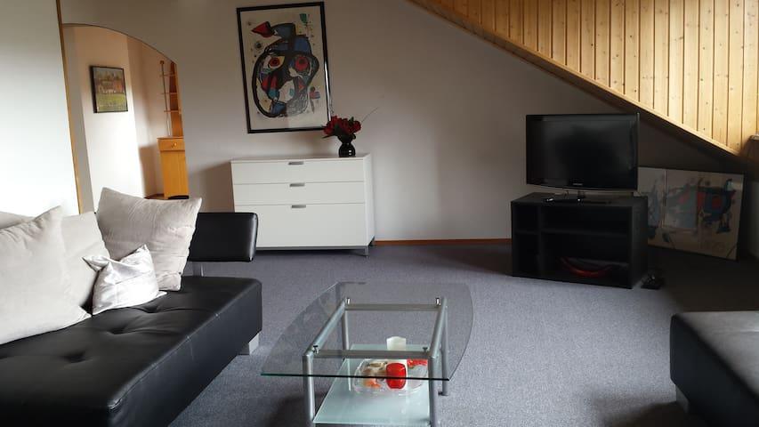 Groß, hell - gemütliches Appartement ca. 68qm - Troisdorf - Pis
