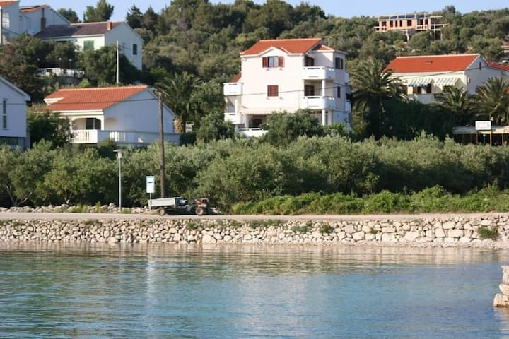 One bedroom apartment with balcony Jakišnica, Pag (A-4160-d) - Lun - Apartamento