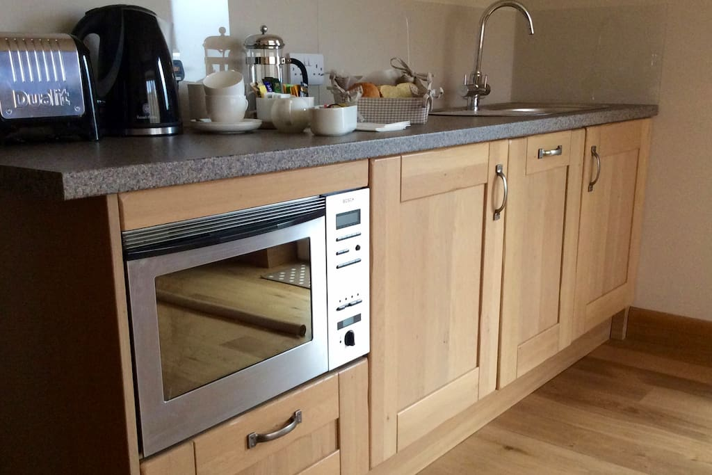 Built in Fridge, Conventional Oven, Microwave etc.