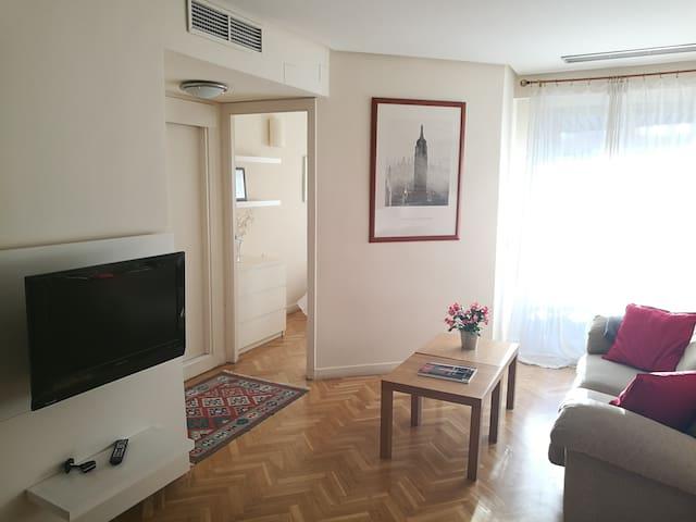 Acogedor y luminoso apartamento zona Bernabéu