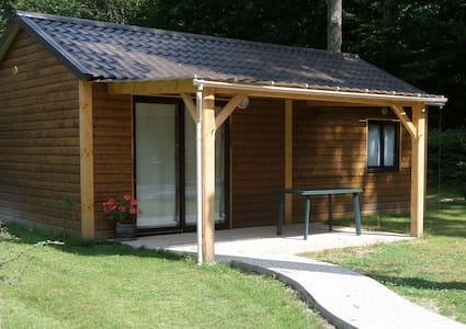 chalet confort pour 4 à 6 personnes - Villeneuve-les-Genêts - Chatka w górach
