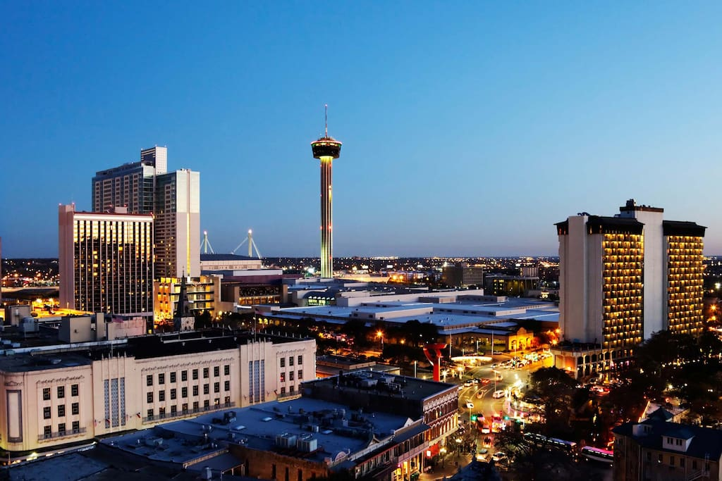 WELCOME TO THE GREATEST CITY IN TEXAS - SAN ANTONIO AWAITS!!!