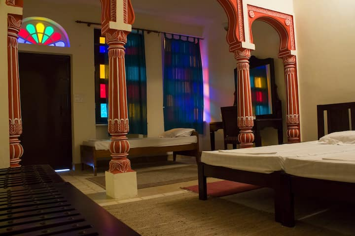 Deluxe Room  · Accommodation in downtown of Jaipur - Walled City