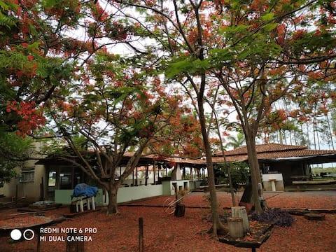Rancho para famílias e eventos