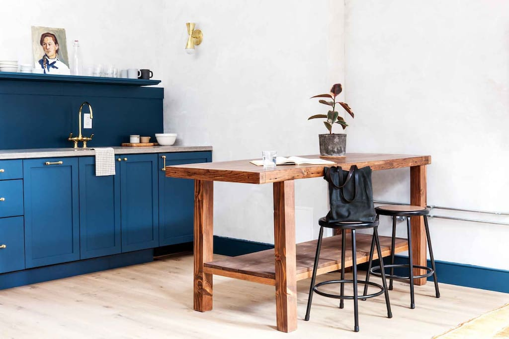 Kitchen Island with Seating for Two