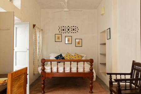 The House of Blue Mangoes -Room Isaioli (Ensuite) - Puducherry
