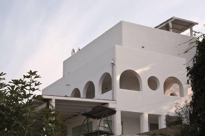 villa mediterranea panoramica - Rodi - Villa