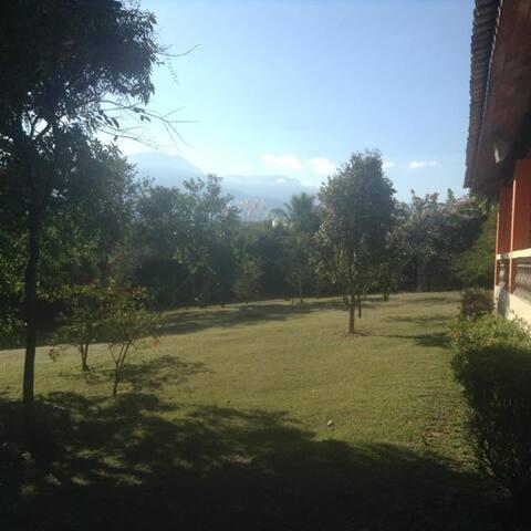 Linda paisagem, tranquilidade e adrenalina!