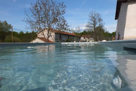 Gite handi-accessible 9p. + piscine - Montverdun