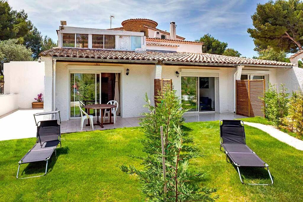 Beau 2 pi ces confort calme terrasse jardin for Beau jardin apartment