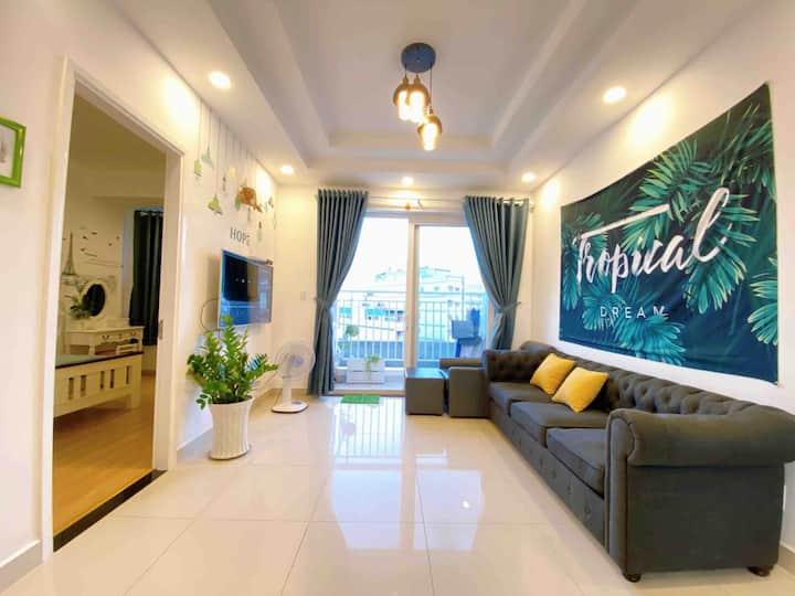 Tropical House/ Melody apt/2BRS, 2WC SEA ViewA12-5