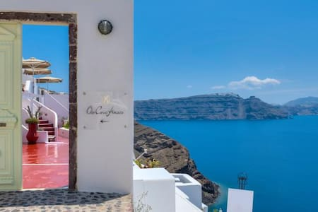 Traditional house Caldera sea view - Oia - Bed & Breakfast
