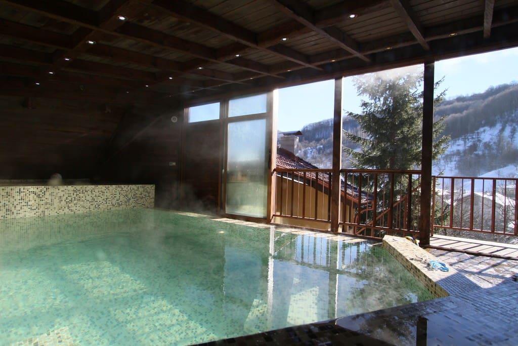 Hot Pool Winter