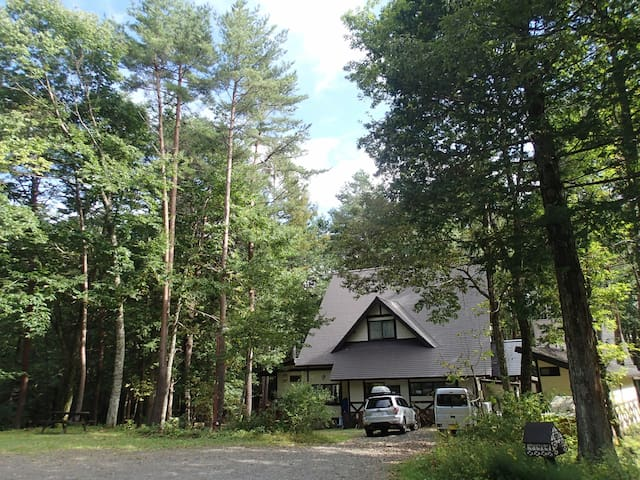 Japanese-style room in KISO Kaida highland Lodge