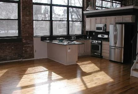 Fantastic NYC-style LOFT--2 BR - City of Orange - Çatı Katı