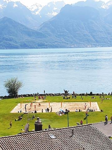 Logement entier Direct sur le lac ( 20 mètres)