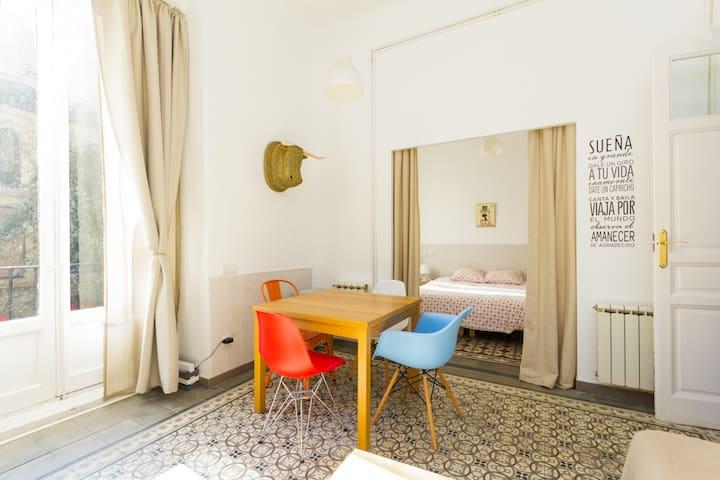 Bright & cozy -1 BD City Center (La Latina) - Madrid - Apartment