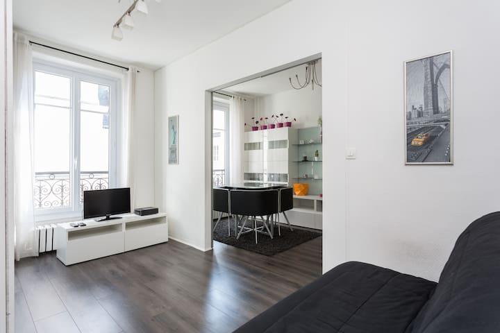Charming flat Trocadero / Eiffel-Tower 1bd/4p