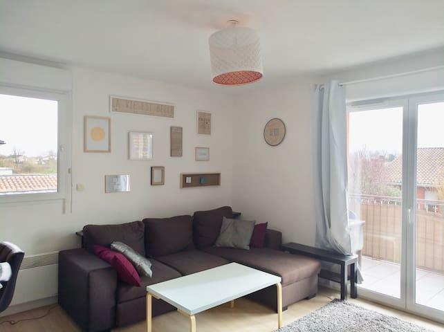 Appartement cosy près de la Ramée