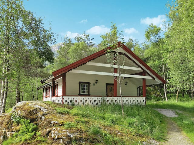 Holiday home in Viksdalen with great view