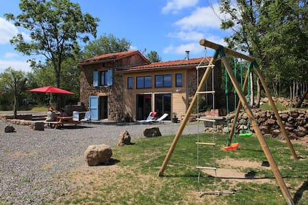 Gîte Contemporain NEUF : Sauna,Balnéo,four à pain - Bard