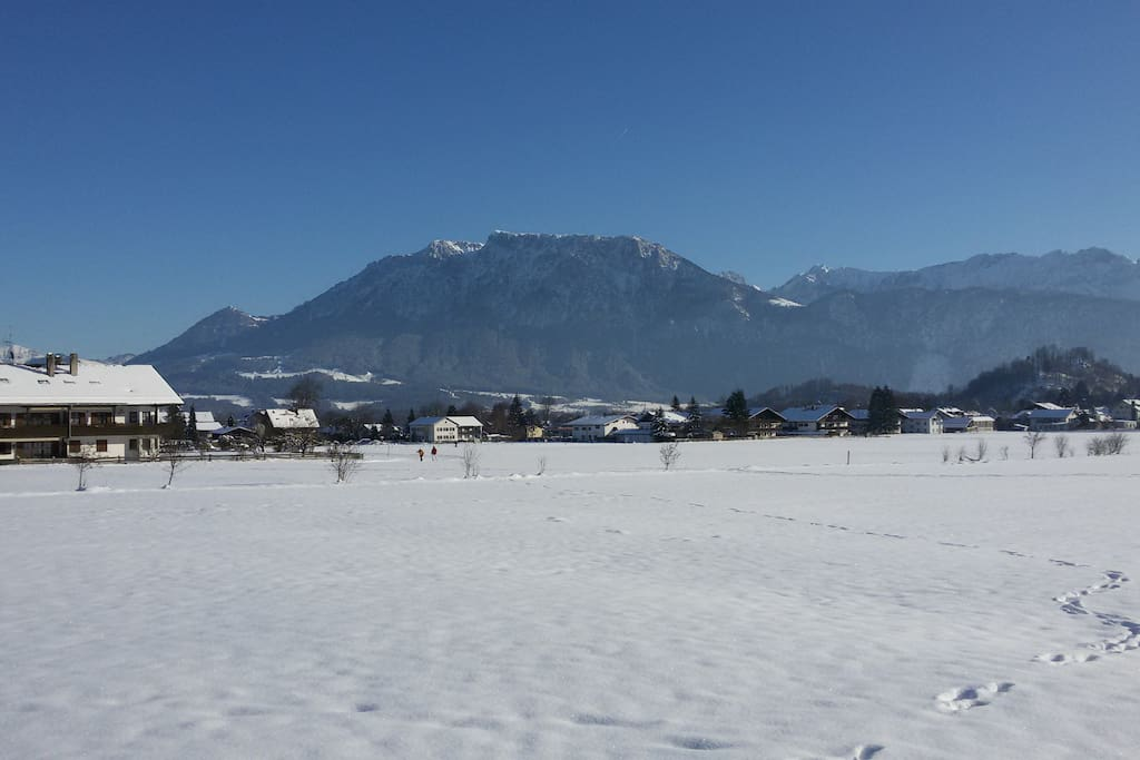Cross country skiing Oberaudorf