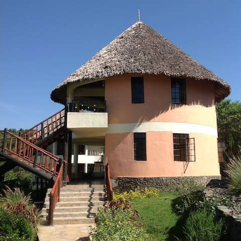 Your room with panaromic lake view. - Chalet